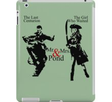 Mr. & Mrs. Pond - Doctor Who iPad Case/Skin