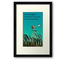 PHOTO HAIGA LXX Framed Print