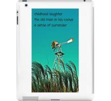 PHOTO HAIGA LXX iPad Case/Skin
