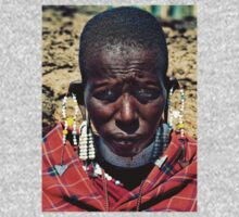 Portrait of a Maasai Woman Kids Clothes