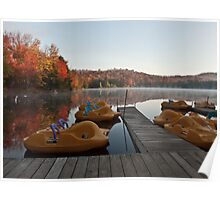 Paddle Boats Poster