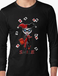 SMILE! Long Sleeve T-Shirt