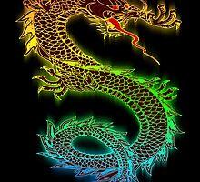 Rainbow Dragon by A1RB