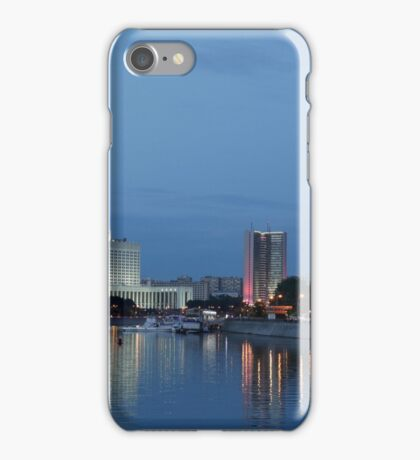 Moscow Russia City Center View iPhone Case/Skin