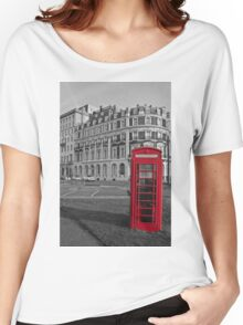 Isolated Phone Box Women's Relaxed Fit T-Shirt