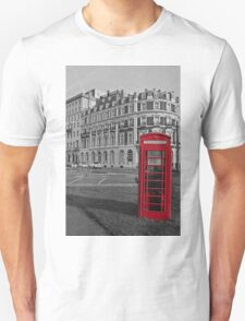 Isolated Phone Box Unisex T-Shirt