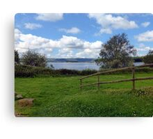 Chew Valley Views Canvas Print