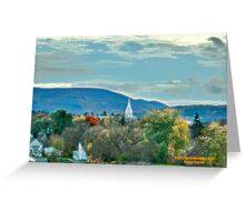 Rutland Vermont Greeting Card
