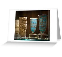 Ancient Vessels Greeting Card