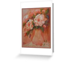 All Pink Together Greeting Card