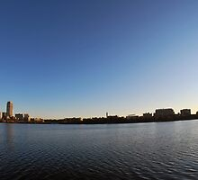 Boston From The Charles by copiouspics