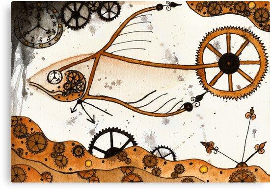 Clockwork Goldfish by Dorothea Baker