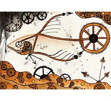 Clockwork Goldfish Photographic Print