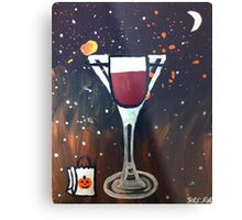 Trick or Treat, Martini Metal Print