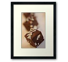fudge forever ... Framed Print