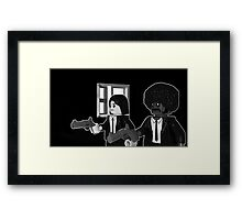 Brick Fiction Variant 01 Framed Print
