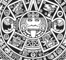Mayan Calendar Dark Sticker
