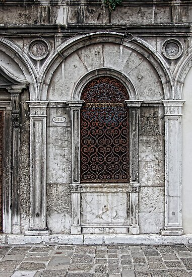 Campo San Zaccaria Tracery  by Chris Allen