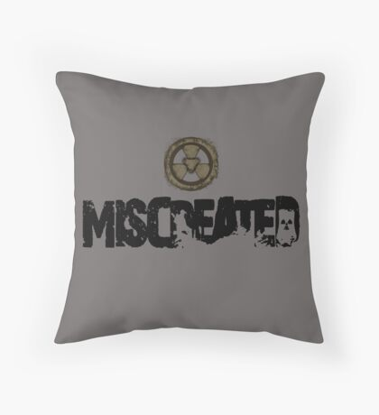 Miscreated  Design 1 Grey (Official) Throw Pillow