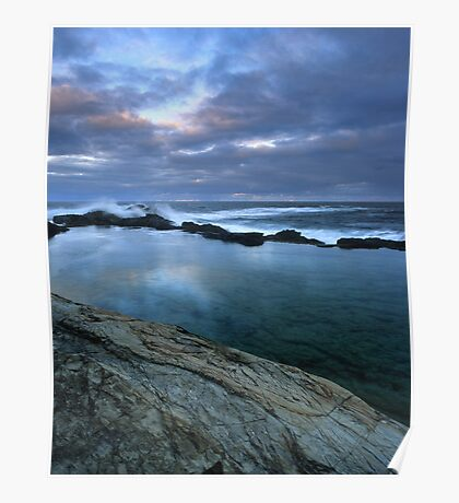 """Blue Pool"" ∞ Bermagui, NSW - Australia Poster"