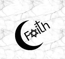 Faith - Marble by Ron Marton
