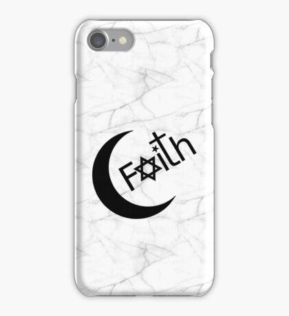Faith - Marble iPhone Case/Skin