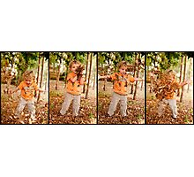leaf blower Photographic Print