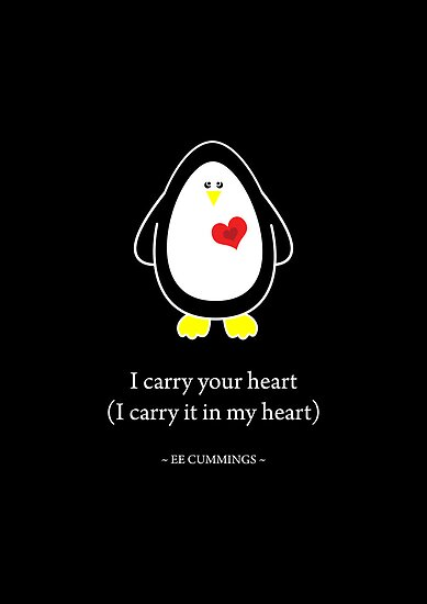 I Carry Your Heart With Me by Louise Parton
