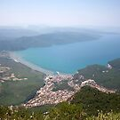 The Gulf of Gökova and Akyaka Town by taiche