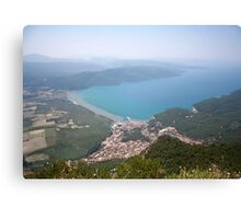 The Gulf of Gökova and Akyaka Town Canvas Print