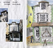Sketchbook Project Day 11 by Beth A