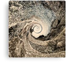 Whirl world. Canvas Print