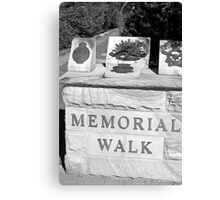 North Head Manly - Memorial Walk Canvas Print