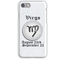 Virgo Zodiac Sign iPhone / iPod Cover - White iPhone Case/Skin