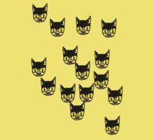 cats, cats, repetative cats Kids Clothes