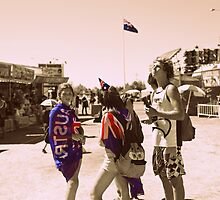 Side show ally Australia Day 2012 by HennaGoddess