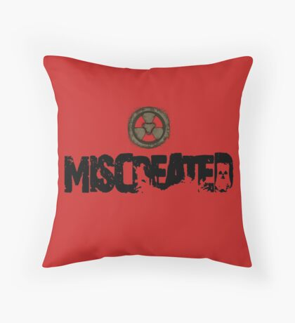 Miscreated Design 1  Red (Official) Throw Pillow