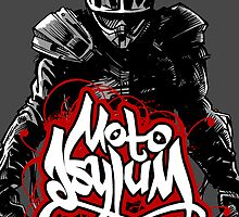 MotoAsylum Male Rider - iPhone Case by quigonjim