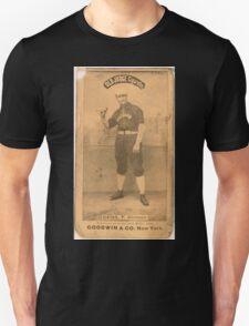 Benjamin K Edwards Collection Emil Geiss Chicago White Stockings baseball card portrait 002 Unisex T-Shirt