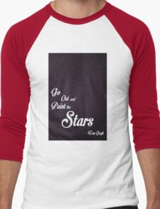 Go Out and Paint the Stars Men's Baseball ¾ T-Shirt
