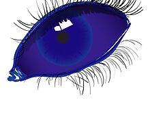 Blue Eye by cbechtell