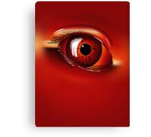 Red Eye Canvas Print