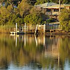 Tumbulgum Jetty by Wayne  Nixon