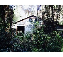 Once Upon a Time, There was a House in the Forest Photographic Print