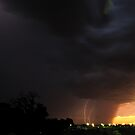 Lightning over Ellenbrook by Richard Owen