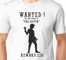 Wanted (Doctor Who) Unisex T-Shirt
