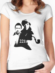 Residents of 221B Women's Fitted Scoop T-Shirt