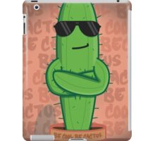 Just A Cool Cactus iPad Case/Skin