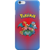 Pokemon - Charizard, Venusaur, Blastoise iPhone / iPod Cover iPhone Case/Skin