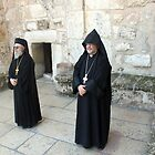 Greek and Armenian Monks by muniralawi